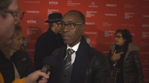 Matt Duhamel talks with Don Cheadle Sundance Film Festival
