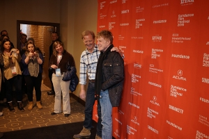 Robert Redford with son, James Redford (Resilience) Sundance Film Festival