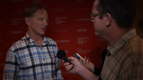 Matt Duhamel talks with James Redford (Resilience) Sundance Film Festival