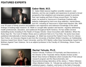 featuerd experts, In Utero Documentary Film
