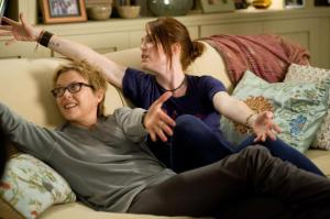 Actors Annette Benning and Julianne Moore in 'The Kids Are All Right'