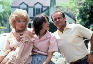 Shirley MacLaine, Debra Winger and Jack Nicholson in 'Terms of Endearment.'
